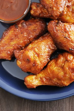 Buffalo wings are not made from buffalos.
