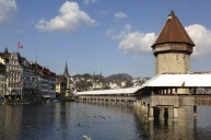 Lucerne in Switzerland offers especially great scenery.