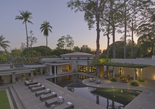 AMANSARA: While Aman junkies might instantly recognise the minimalist style of the resort group,  the thick scent of ...