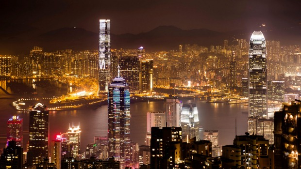 The view over  Hong Kong skyline from Victoria Peak at night is breathtaking.