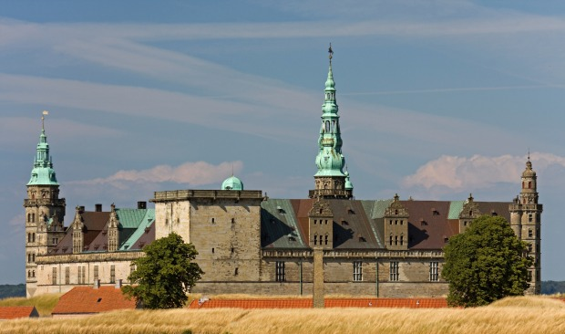 "KRONBORG CASTLE, HELSINGOØR, DENMARK: If graffiti were permitted, inevitably someone would scrawl ""Hamlet was here"", ..."