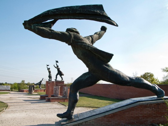 Memento Park, Hungary: When you think big, imposing social realist statues of angry men waving fingers at you, you'd ...