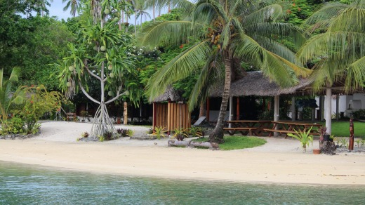 Oyster Island Resort has a relaxed feel.