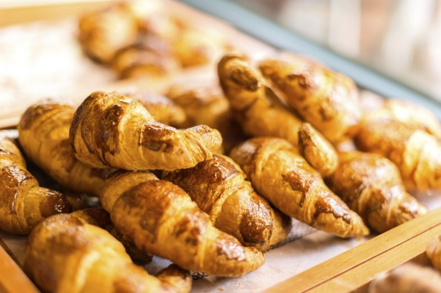 Fresh croissants. Indulge in Paris' foodie delights.