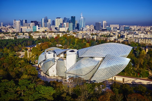 3. SEE FONDATION LOUIS VUITTON. Like your art accompanied by avant-garde architecture? Resembling a cross between a ...