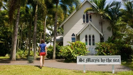 St. Mary's by the sea. Port Douglas.