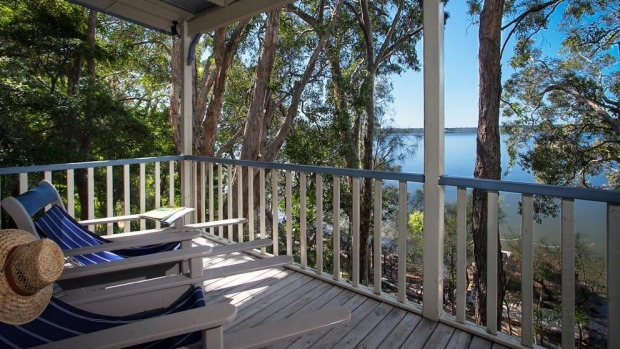 Eumarella Shores Lakeside Retreat, near Noosa, is as tranquil as it gets.