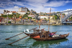 These rabelo boats used to bring port down the Douro River in barrels to Porto, for export to Europe.