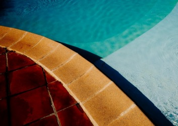 Provence Pool. Shapes & Colours.