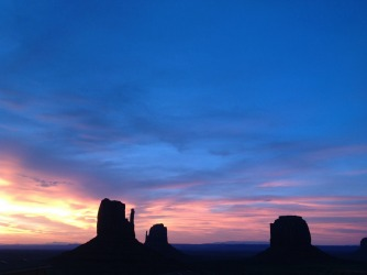 I was staying at the campsite at Monument Valley, Arizona, and had to go to the bathroom at 4am. I clambered out of my ...