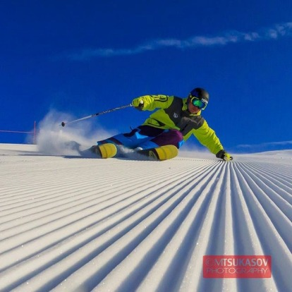 Instagram competition top entries: Hotham carving.