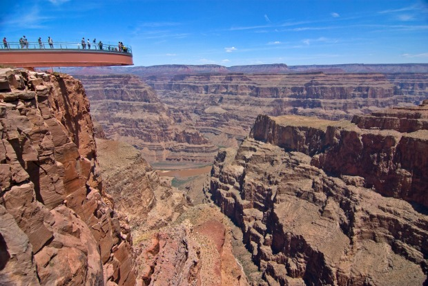DARE TO SKYWALK: One of the most unique Grand Canyon experiences involves a bit of courage. The Skywalk, a horse-shoe ...