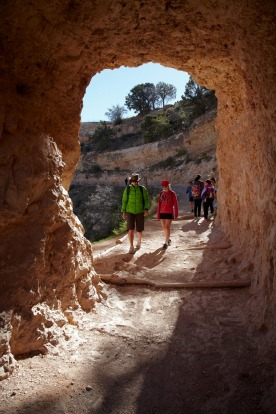 TAKE A HIKE: The Grand Canyon has  hikes suitable for everyone, from casual strolls on the rim to serious hikes ...