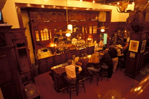 MENGER BAR, SAN ANTONIO, TEXAS. The oldest continuously operated hotel west of the Mississippi, the Menger – established ...