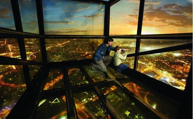 The Eureka Skydeck, Melbourne: In many ways, the Eureka Skydeck is your classic observation tower experience – ace views ...