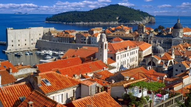 The old walled city of Dubrovnik in Croatia is a top tourist destination.