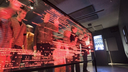 The Ars Electronica Center in Linz, Austria, focuses on up-to-the-minute technology.