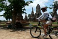 In contrast to the mayhem of Bangkok, Ayutthaya operates at a sedate pace.