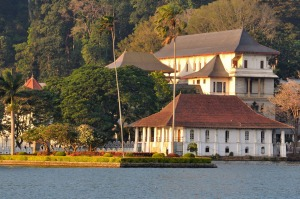 Temple of the Tooth in Kandy.