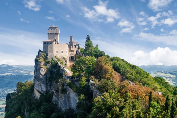 SAN MARINO: There are no border posts separating the 61 square kilometres of the Serene Republic of San Marino from ...