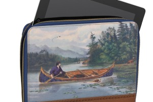 Ted Baker men's tablet sleeve.