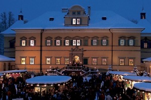 Winter in Austria means a trip to the Hellbrun Christmas Market.
