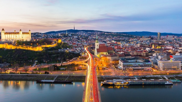 The world is at last recognising the charms of Slovakia's capital, Bratislava.