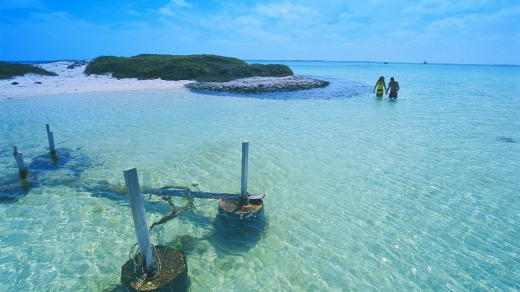 One of the Houtman Abrolhos islands.