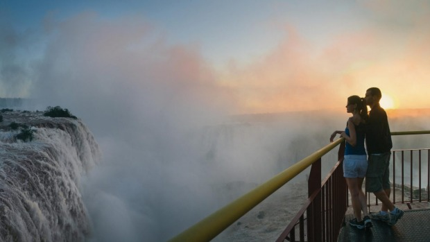 There are plenty of opportunities to get up close to Iguazu Falls.
