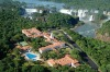 The Hotel Das Cataratas sits on the edge of the Brazilian side of Iguazu Falls.