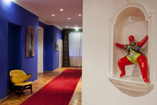 Each wing of the Hotel Altstadt has its own distinct look and feel.