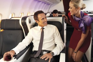 Virgin Australia's busines class service proved exemplary: friendly, intimate and attentive.