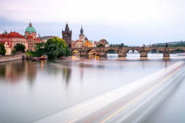 As dusk approaches on the Vltava in Prague, the river comes alive. The echoes of music are heard across the water as ...