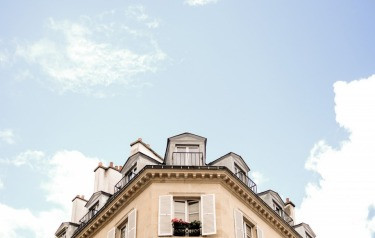St Germain, Paris, France. Wonderful rooflines everywhere.