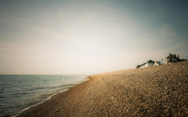 Deal Beach, Kent, England. Morning shoreline walk - beautiful sky tones along this coast, no wonder Turner painted here. ...
