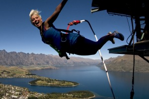 When even the black runs start to pall, get an adrenaline rush with bungy jumping above Queenstown and Lake Wakatipu.
