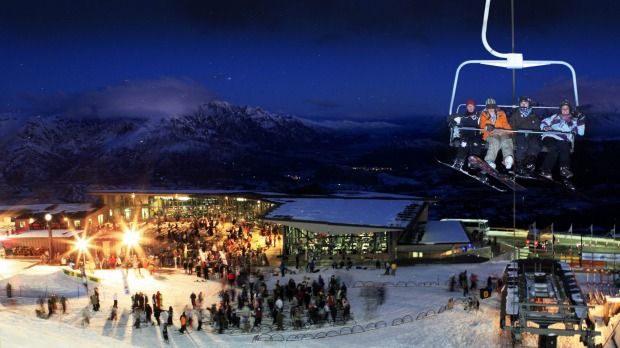 Coronet Peak, Queenstown, New Zealand.