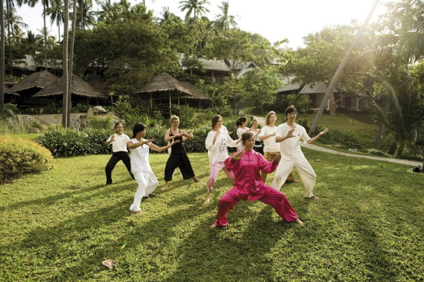 KAMALAYA, KOH SAMUI. The extraordinary, wellness retreat - favoured by the likes of Sarah Ferguson, Elle McPherson, ...