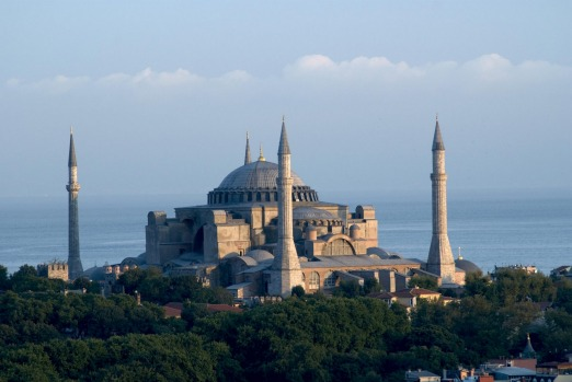 """10. Aya Sofya, Turkey: """"Like the beautiful city in which it stands, Aya Sofya represents a unique crossroads of ..."""