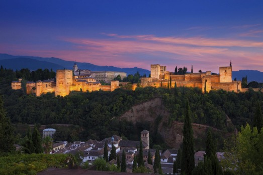 """9. Alhambra, Spain: """"Put simply, this is Spain's most beautiful monument."""""""