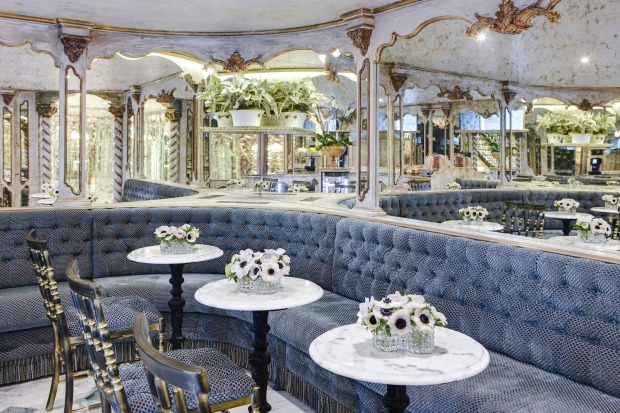 The Viennese cafe on the SS Maria Therese is open 24 hours.