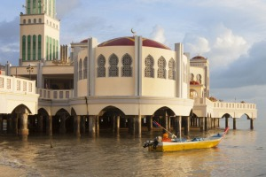 Floating Mosque, George Town, Penang, Malaysia.