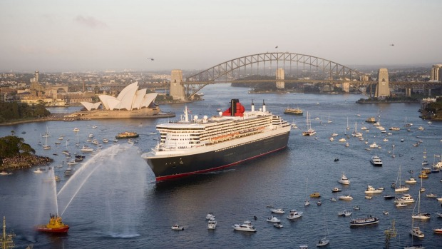 The Queen Mary 2 will soon return to Australia.