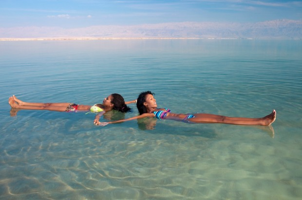 The no-sink swim: Non-swimmers will love Israel's Dead Sea, the super-salty lake which is so buoyant, anyone can float ...