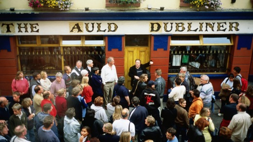 In Ireland, head to a pub and it won't take long before you're mixing with the locals.