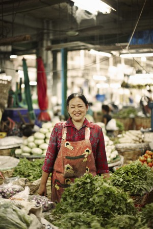 Visit a Thai market and chat to the stallholders.