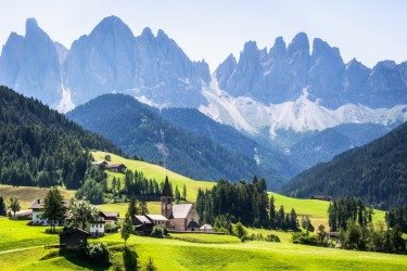 What was meant to be an easy detour off the motorway to the small Italian town of Santa Maddalena in South Tyrol, Italy, ...