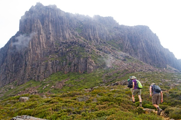 Barn Bluff, Tasmania: It's the peak that gets blocked by Cradle Mountain, both literally and figuratively. Read any ...