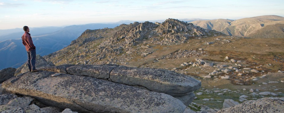 Mt Kosciuszko, NSW: Mt Townsend, Australia's second-highest mountain and a great side trip from Mt Kosciuszko.