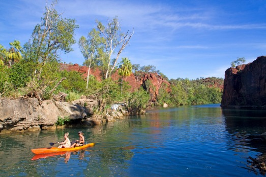 Lawn Hill Gorge, Queensland: Far north Queensland's Boodjamulla (Lawn Hill) National Park is laced with walking trails ...